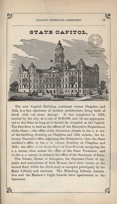 City-County Building Becomes State Capitol Building, December 4th, 1876