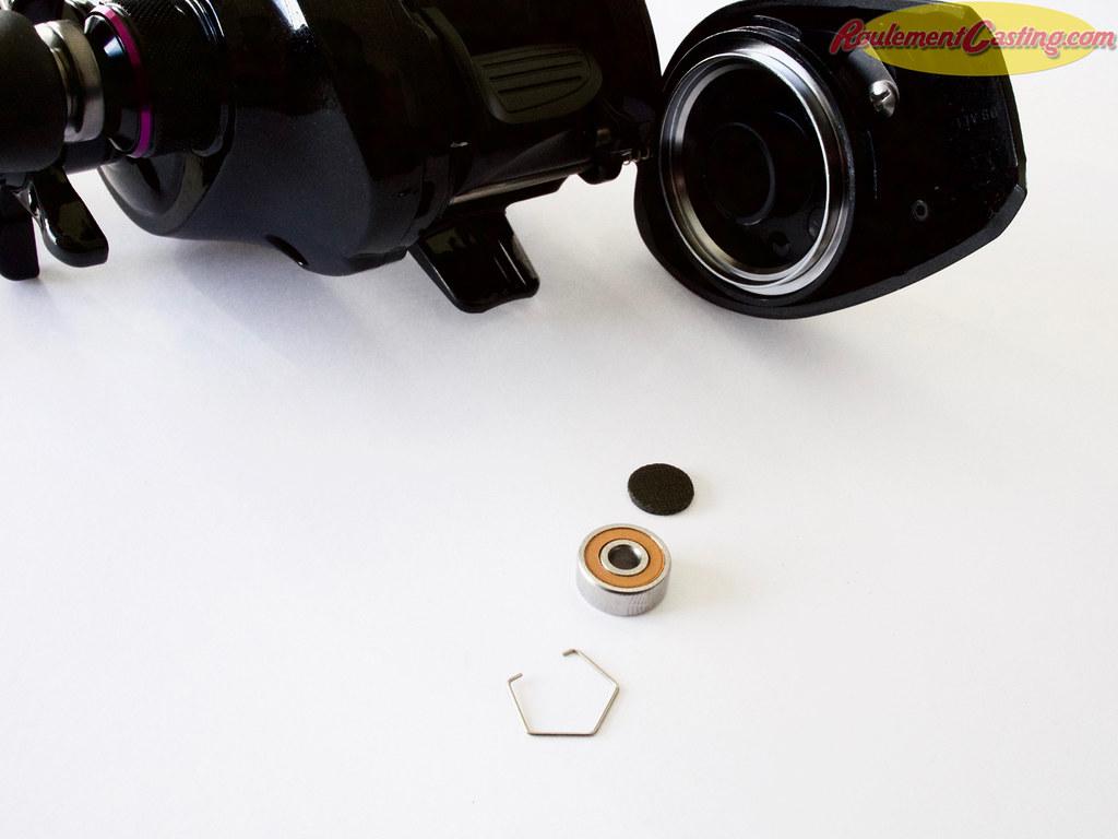 Shimano Brenious Spool Bearings Upgrades #4