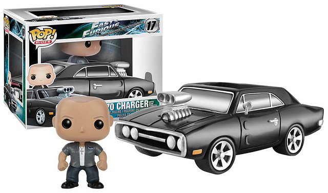 FUNKO RIDES 系列【玩命關頭:唐老大 & 1970 道奇挑戰者】Fast & Furious Dom & 1970 Dodge Charger