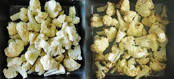 01 Chop, Spice & Bake Cauliflower