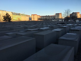 Image of Memorial to the Murdered Jews of Europe. berlin germany holocaustmemorial holocaustmahnmal