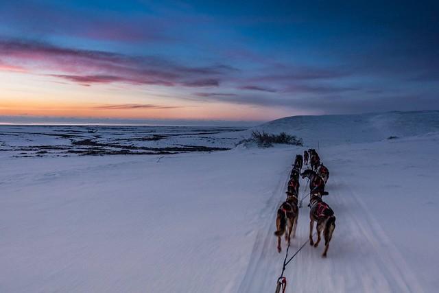 Overlooking Nome Alaska