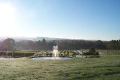 Fontaine du domaine du Vignoble les Cotes du Gavet.