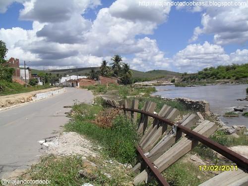 Branquinha - Destruição causada pela enchente em 06/2010