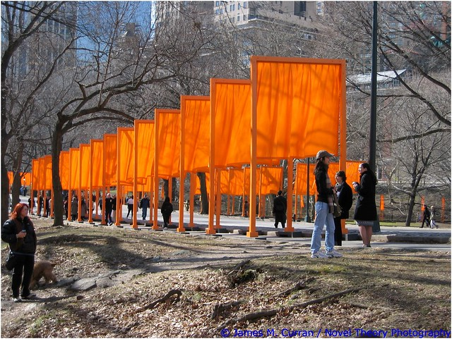The Gates, Central Park, Canon POWERSHOT S45