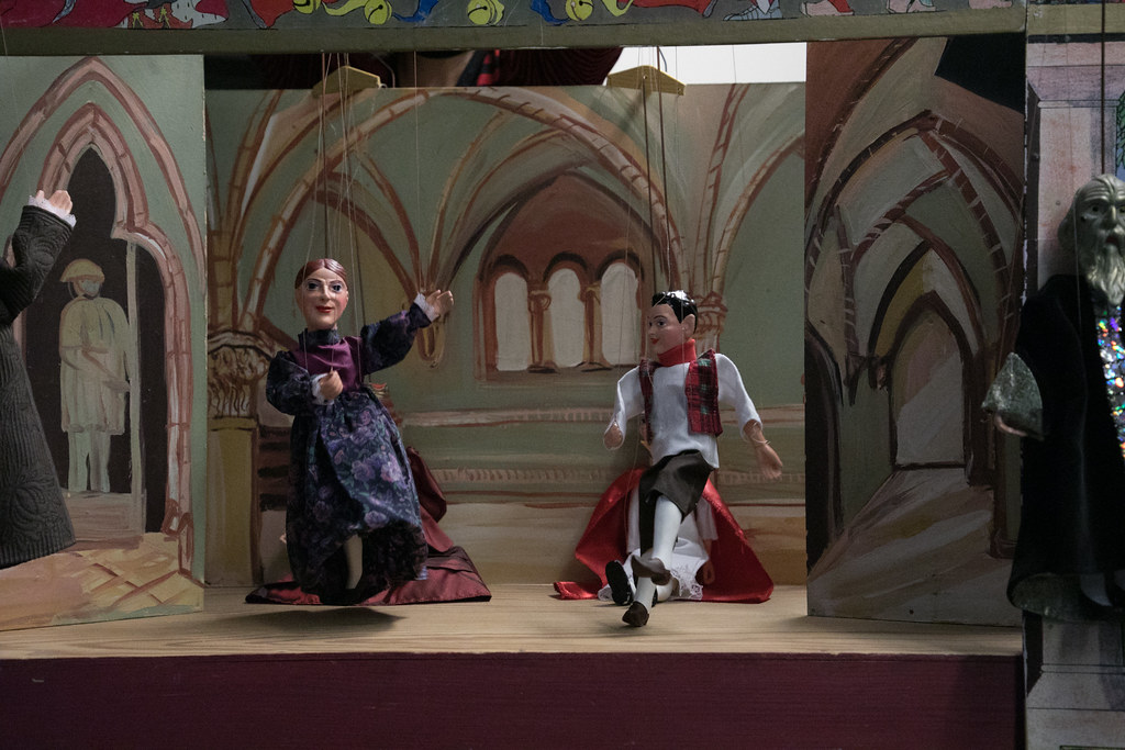 Marionette Theater Prague #visitCzech #チェコへ行こう #link_cz