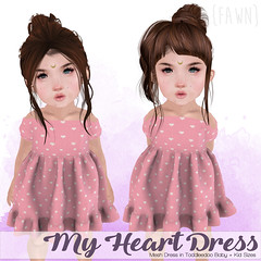 {fawn} My Heart Dress