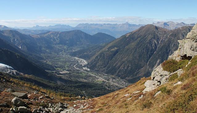 Traversée Montenvers-Plan de l'Aiguille chamonix valley