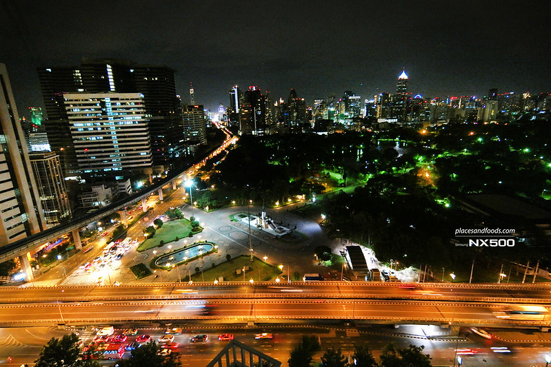 dusit thani night view