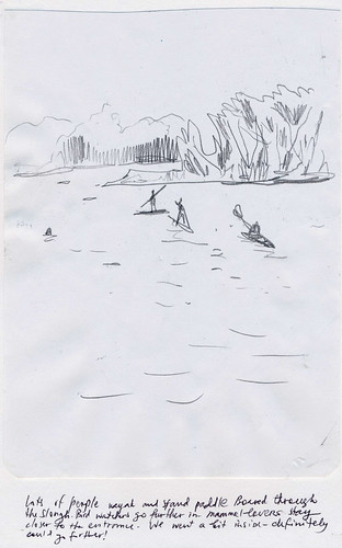 Sketchbook #91: Kayaking