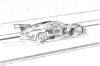 Nissan Nismo GTR GT3 #cardrawing #Pencildrawing by www.autozeichnungen.net