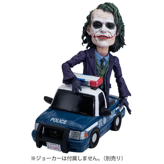 TOYS ROCKA!《蝙蝠俠:黑暗騎士》蝙蝠車/ 警車 【新可動系列!】