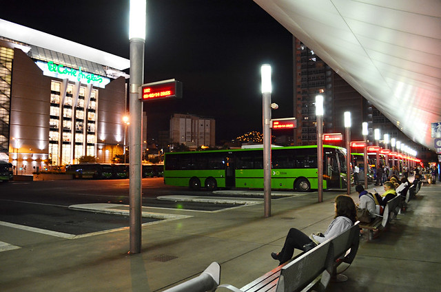 Catch the bus, Santa Cruz, Tenerife