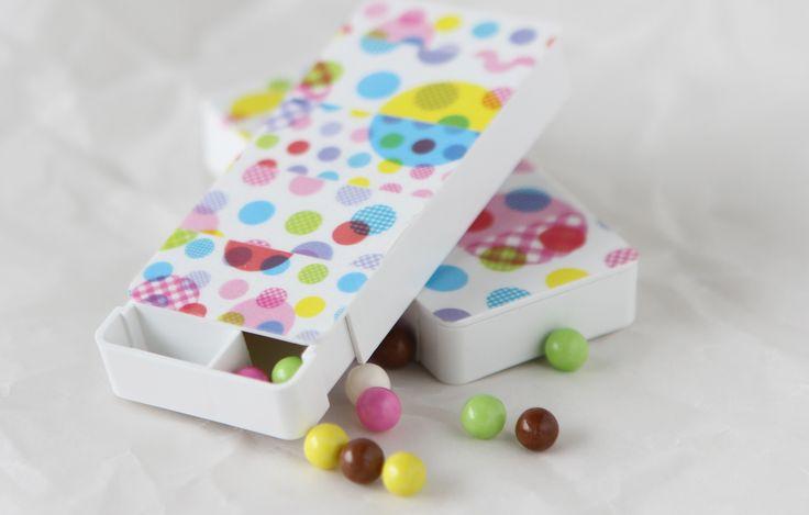 washi tape candy box
