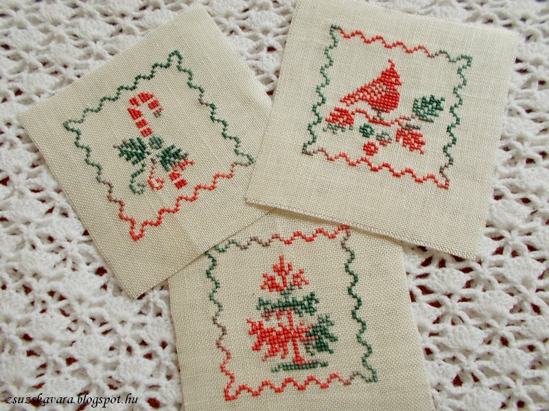 Plum Pudding Needleart, Holiday, christmas, ornament,