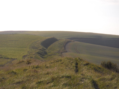 Wandsdyke in the evening sun