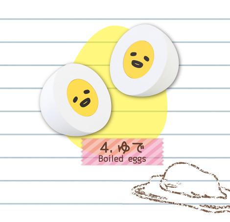 RE-MENT【蛋黃哥。造型橡皮擦】一不小心會把橡皮擦吃掉啊?!食玩作品