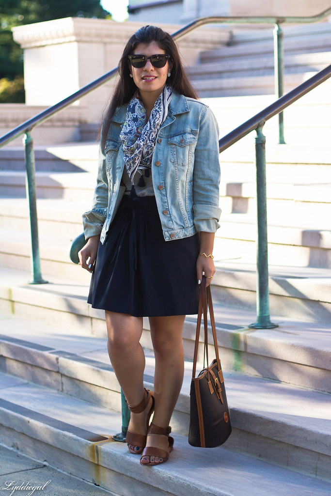 denim jacket, navy skirt, paisley scarf-8.jpg
