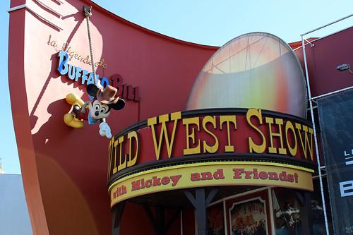 Wild West Show sign