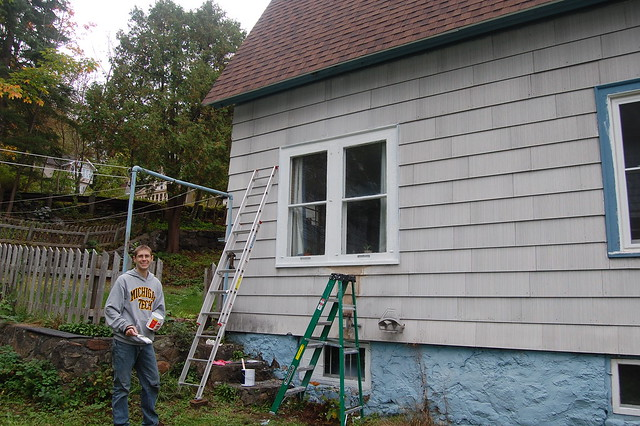 Painting trim