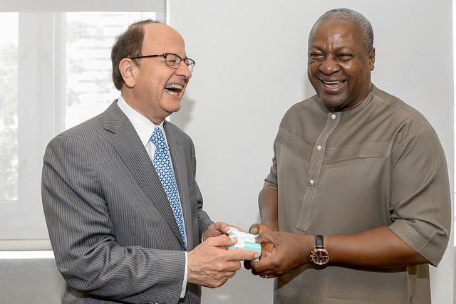 President of Ghana John Dramani Mahama visits USC 10-1-15