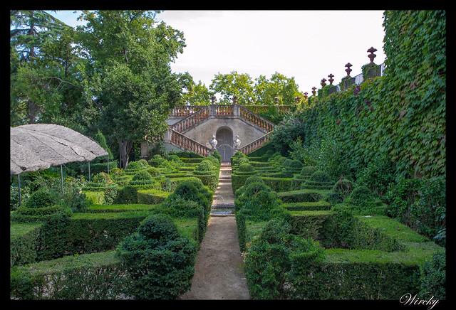 Jardín de los bojes