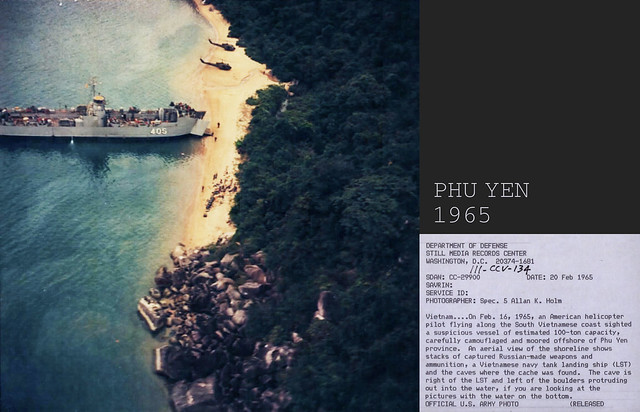 PHU YEN 1965 - Captured Communist Weapons and Ammunition