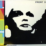 "FRONT 242 GEOGRAPHY 12"" LP VINYL"