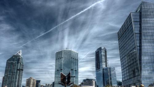 Atlanta Skyline Skyscarpers