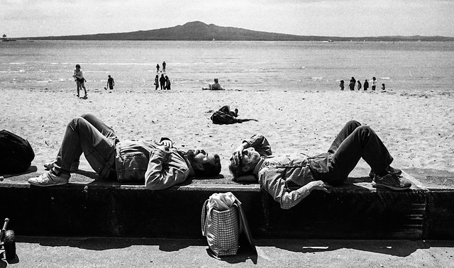 Mission Bay, Auckland, Oct,2015