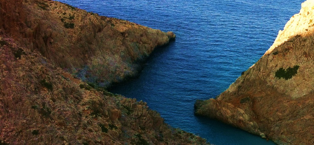 Deep Azure Waters ...
