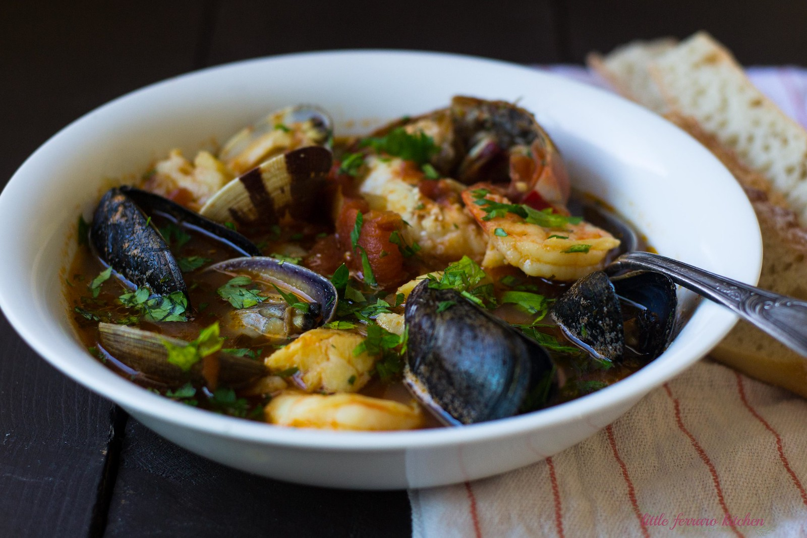Cioppino (Seafood and Tomato Stew)