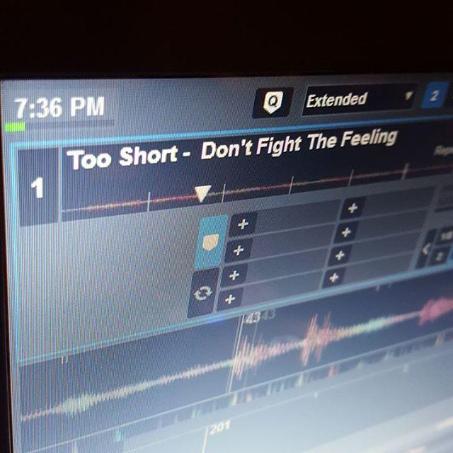#tooshort #dontfightthefeeling #OldSkool #djlife #mixmasterace