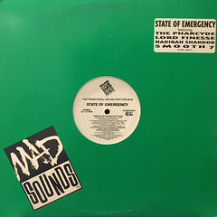 V.A.:STATE OF EMERGENCY SAMPLER E.P.(JACKET A)