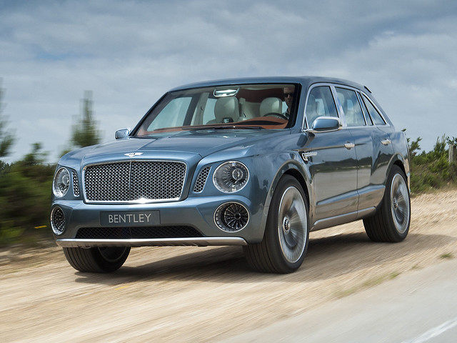 Bentley EXP 9 F Concept 2012 года