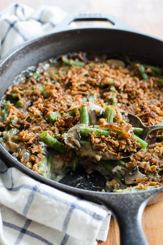 Green Bean Casserole From Scratch | Buttered Side Up
