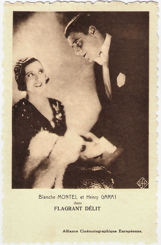 Blanche Montel and Henri Garat in Flagrant Délit (1931)