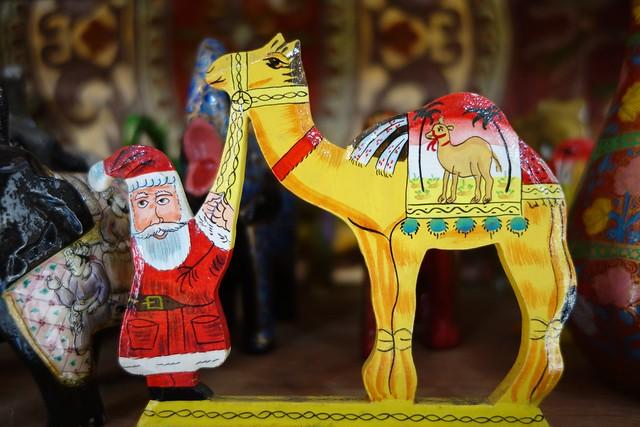 Santa in India