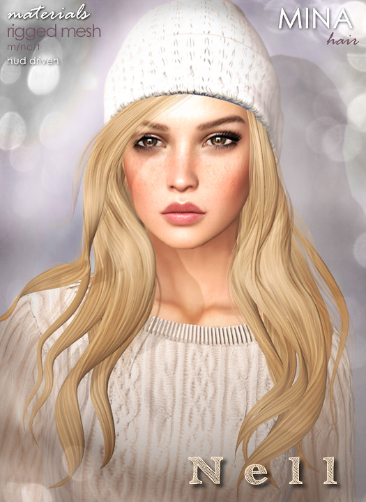MINA Hair - Nell for Christmas on 34th Street - SecondLifeHub.com