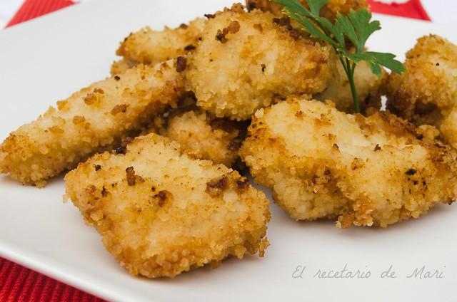 Delicias de pollo crujiente 2