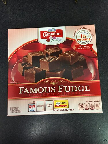 Famous Fudge Kit fudge (1)