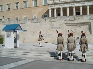 Changing of the Guard, Syntagma Square, Athens, Photo credit: KarinKarin