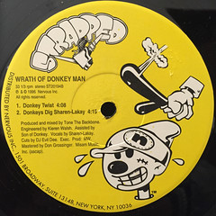 WRATH OF DONKEY MAN:DONKEY TALE(LABEL SIDE-B)