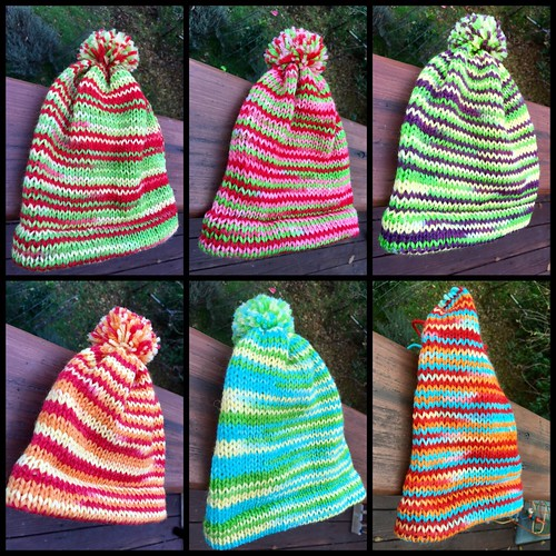 Finished Hats