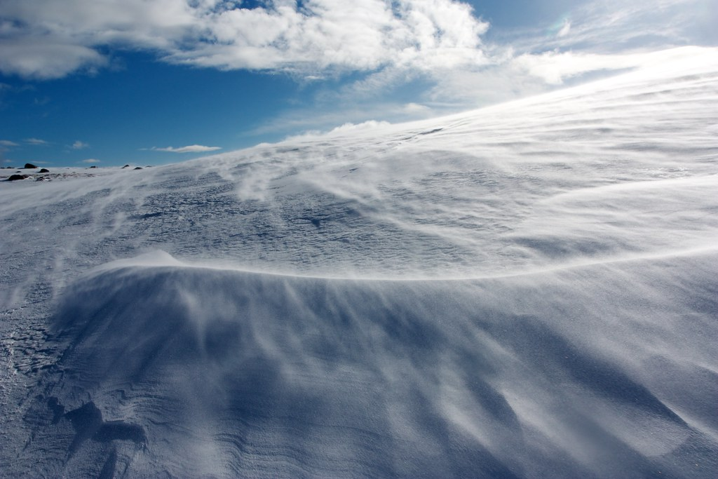 Spin Drift on the White Mounth