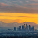 It's Snow Joke: Los Angeles Sunrise Panorama, Boxing Day 2016 by Michael Holden