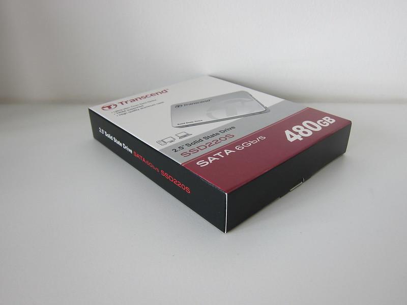 Transcend TLC 480GB SSD - Box