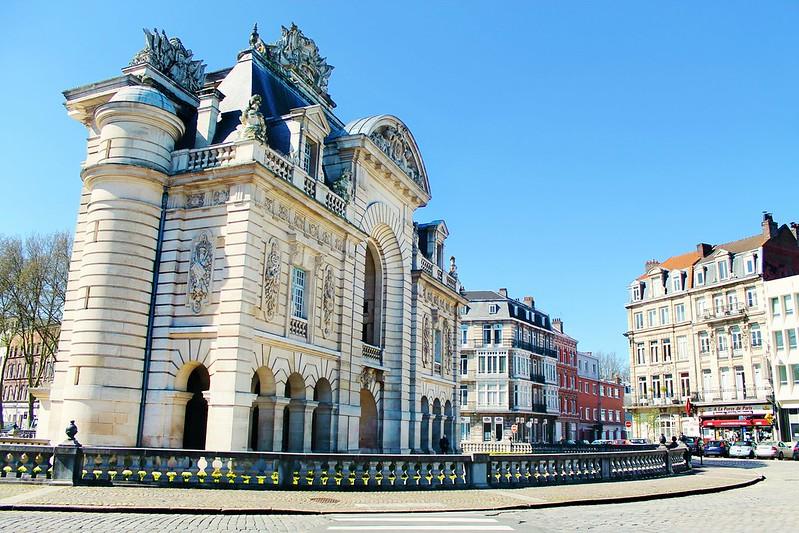 Drawing Dreaming - Guia de Visita de Lille - Porte de Paris
