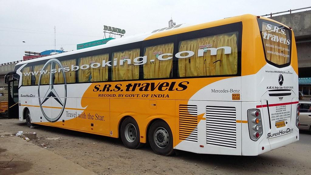 srs travels | ka 01 ag 4336.brand new bus mercedes benz mult… | flickr