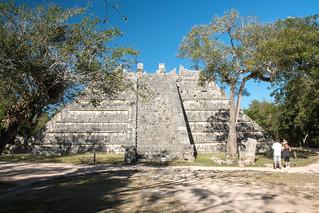 Image of Chichen Itzá near San Felipe Nuevo. 2017 mexico yucatan january winter mayan chichenitza ruins mexique estadosunidosmexicanos tombofthehighpriest tumbadelgransacerdote mexiko 墨西哥